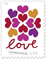 Hearts Blossom Stamps