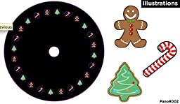 Mr. Christmas Panoramic Motion Projector Slide Wheel Set - All New Designs