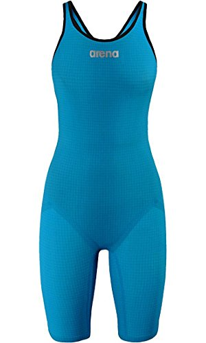 ARENA Carbon Pro Mark 2 Kneeskin Open Back, Cyan 26 by Arena