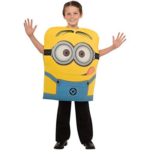 Despicable Me 2 Minion Dave Child Costume (Despicable Me 2 Minion Dave Costume, Small)
