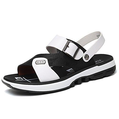 Damen Sommer Hausschuhe Atmungsaktive Flache Mode Freizeitschuhe Sandalen ( Farbe : 2 , größe : EU40/UK7/CN41 )