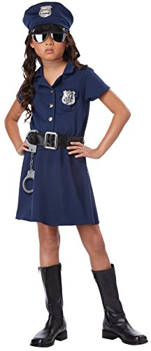 Police Officer Child Costume - - Police Boots Sunglasses