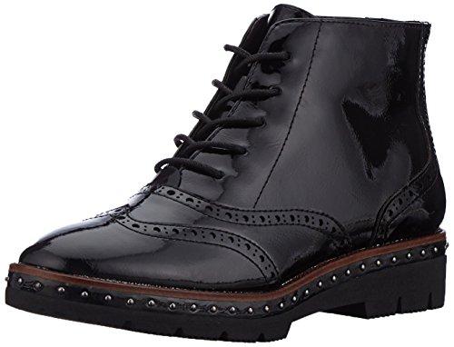 Negro Tozzi Mujer Militar black Botas Para Patent 25258 Marco nHUxn