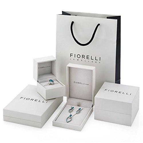 Fiorelli Bijoux Argent 925ORB Amazonite Bar pendentif