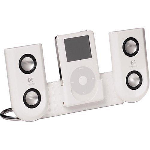 Logitech mm22 Portable Speakers iPod