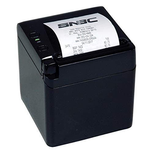 SNBC BTP-S80 Thermal Receipt Printer - Serial/USB/Ethernet - New Model - Top or Front Paper Exit - 3 Interfaces