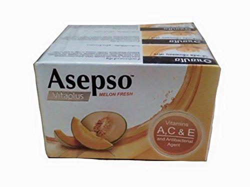 Asepso Vitaplus Melon Fresh soap bar 70g*3bars