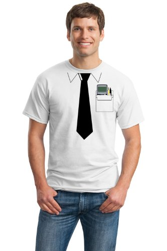 Pocket Protector | Funny Engineer, Geek Humor Nerdy Unisex Costume T-shirt