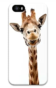 Brian114 iPhone 5S Case - Cute Giraffe Back Case Cover for iPhone 5 5S Hard 3D Cases