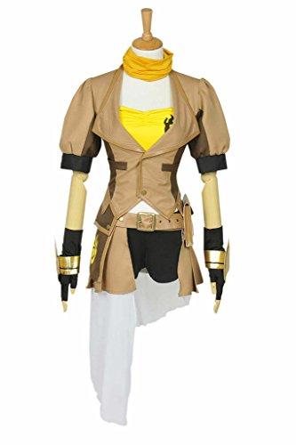 CosplayNow RWBY Yang Xiao Long Cosplay Costume Full Set Yellow XS