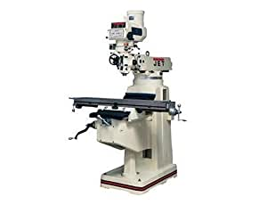 Jet 690120 JTM-1050 230/460-Volt 3 Phase Variable Speed Vertical Milling Machine with X-Axis Powerfeed