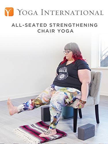 All-Seated Strengthening Chair Yoga on Amazon Prime Video UK