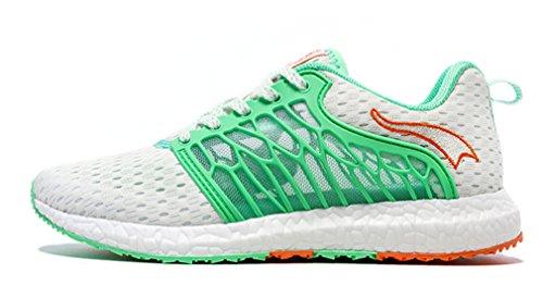 Zapatillas blanco Verde Unisex De Running Sintético Onemix Adultos Competición Material 1wAd1zq