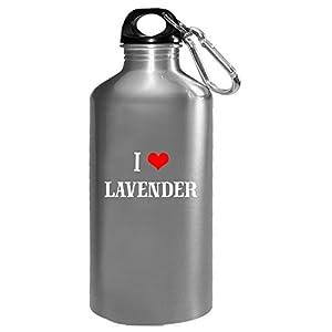I Love Lavender Cool Gift - Water Bottle