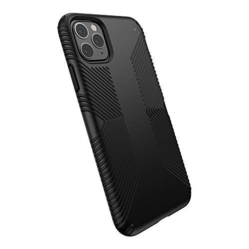 Speck Products Presidio Grip iPhone 11 PRO Max Case, Black/Black
