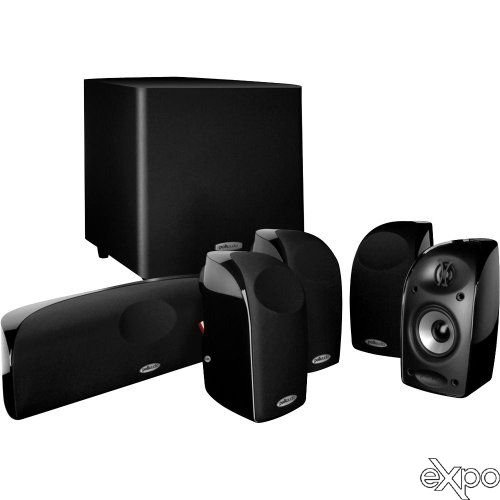 Polk Audio TL1600 5.1 Compact Home Theater System with Powered Subwoofer by Polk Audio