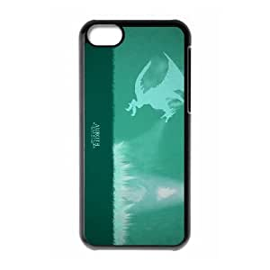 iPhone 5c Cell Phone Case Black Defense Of The Ancients Dota 2 WINTER WYVERN 003 OIW0476690