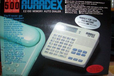 Auradex Ez-100 Memory Auto Dialer (Dialer Touch Tone)