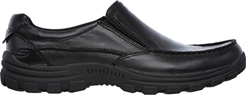Skechers USA Black Slip randon Mens Loafer Black On Braver w1xawZ