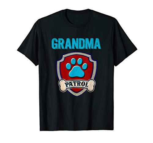 Funny Grandma Patrol T-Shirt - Dog Mom T-Shirt ()