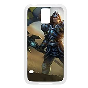JarvanIV-005 League of Legends LoL For Case Iphone 4/4S Cover - Plastic White