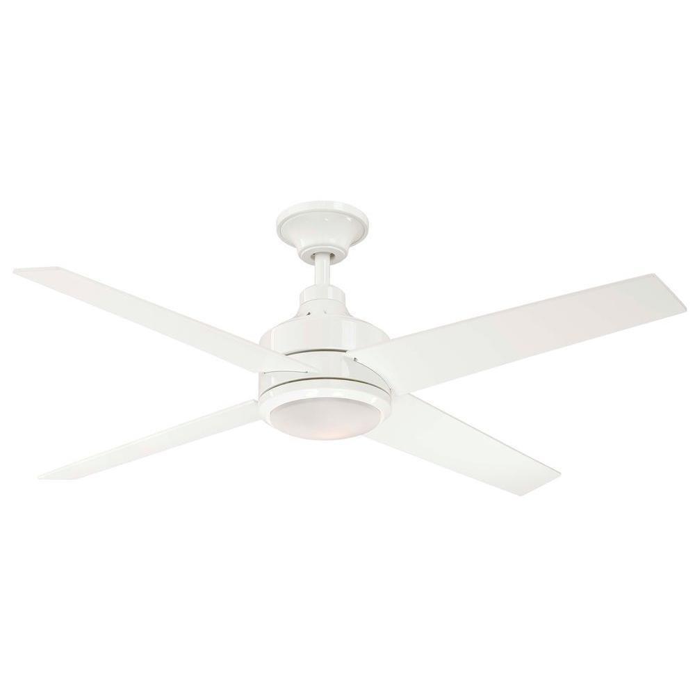 Hampton Bay Mercer 52 In. White Ceiling Fan by Hampton Bay