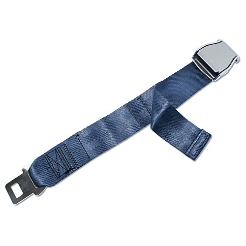 (FAA Approved - Airplane Seat Belt Extender - FREE VELOUR POUCH)