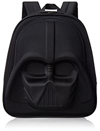 Loungefly Darth Vader 3D Molded Nylon Backpack, Black, One Size