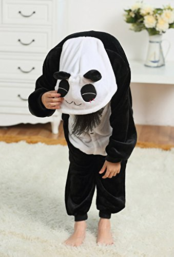 Panda Mehrfarbig Halloween Kids s Cosplay Costumes Tonwhar Onesie Kigurumi Children' Animal qzIwpEv