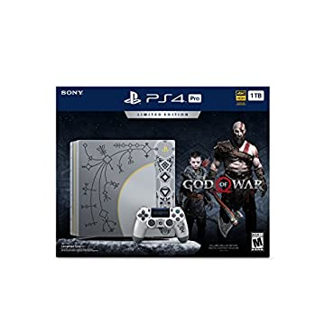 PlayStation 4 Pro 1TB Limited Edition Console God of War Bundle