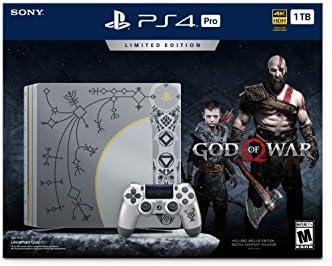 Sony Consola PlayStation 4 Edición Pro 1 TB Limited - dios de la ...