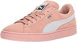 Puma Women's Suede Classic Wn Sneaker, Peach Beige White, 8.5 M Us