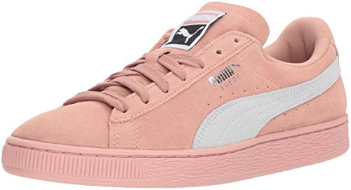 PUMA Women's Suede Classic Wn Sneaker, Peach Beige White, 10 M US (Outlet-mercedes)