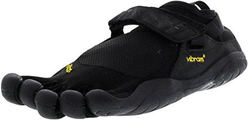 Vibram Men's Five Fingers, KSO EVO Cross training Shoe BLACK BLACK 4.5 M by Vibram