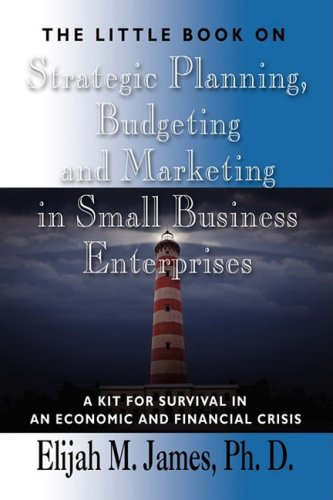 The Little Book on STRATEGIC PLANNING, BUDGETING AND MARKETING IN SMALL BUSINESS ENTERPRISES: A Kit for Survival in an economic and financial crisis pdf epub