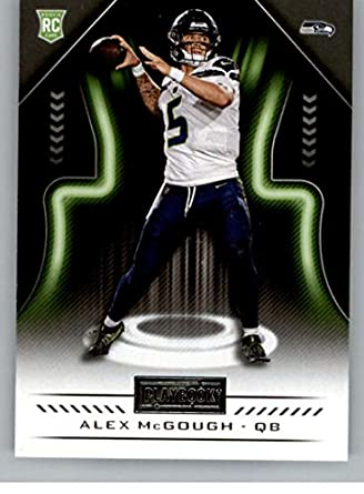 2018 Panini Playbook  153 Alex McGough Rookie RC Rookie Seattle Seahawks  NFL Football Trading Card a1f6e880e