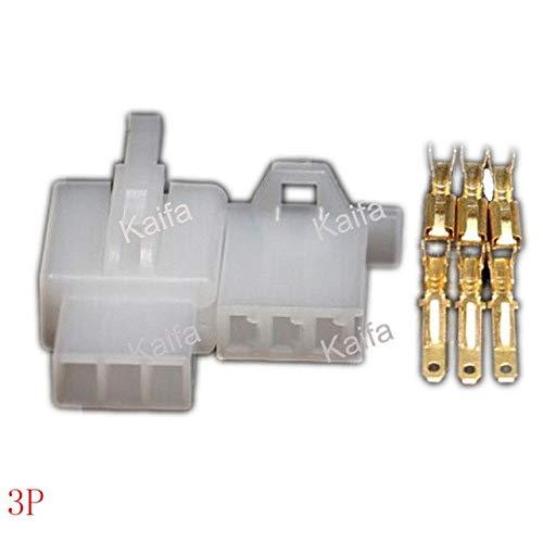 Amazon.com: Connectors 10 Set/Lot 2.8Mm 2/3/4/6/9 Pin Automotive Electrical Wire Auto/Car 2.8 Connector for E-Bike,Automobile,Motorcycle Etc. - (Color: 2P): ...