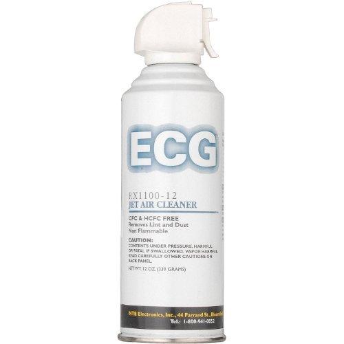 ECG RX1100-10 Jet Air Cleaner, 10 oz. Aerosol