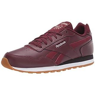 Reebok Men's Classic Harman Run Sneaker, Lux Maroon/Alabaster/Eggplant, 4 M US