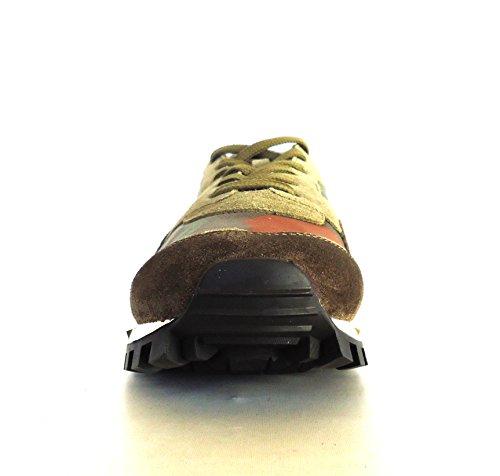 VALENTINO GARAVANI Sneakers Scarpe Uomo ROCKRUNNER NY2S0952 45A Camouflage Verde