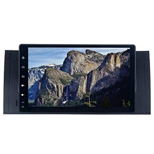 Roverone 9 Pouces Android 6.0 Octa Core pour BMW E39 E53 X5 M5 Autoradio avec système GPS de navigation radio stéréo Bluetooth Mirror Link Full écran tactile