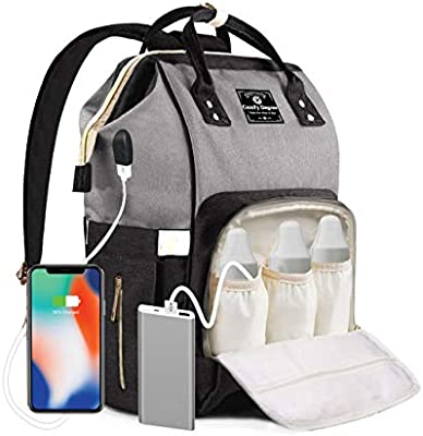 Baby Changing Backpack With Built in