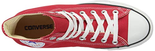 As Can Red Converse Charcoal Sneaker erwachsene 1j793 Hi Unisex Aq6R6wPd