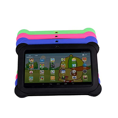 E.I.H. Tablet PC 7 inch Children Tablet Q88 512MB+4GB A33 Quad Core 0.3MP Dual Camera 1024600 WiFi Android 4.4 Tablet PC with Silicone Cover by E.I.H. (Image #6)