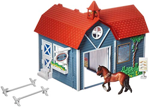 (Breyer Stablemates Riding Camp Horse Toy, Red)