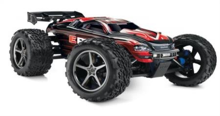 Traxxas E-Revo: 1/10 Scale 4WD Electric Racing Monster Tr...