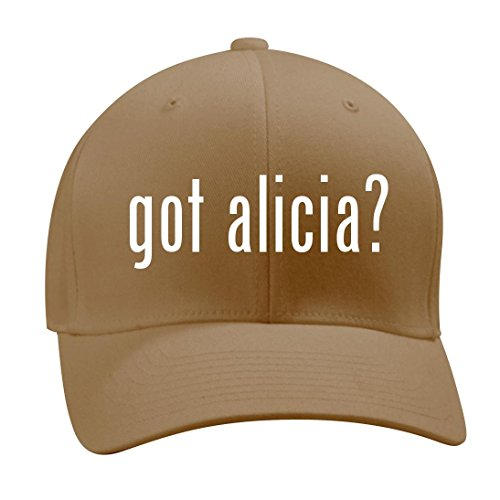 got alicia? - A Nice Men's Adult Baseball Hat Cap, Khaki, - Myer Miranda