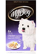 MY DOG Chicken & Cheese Dog Wet Food 6 x 100g