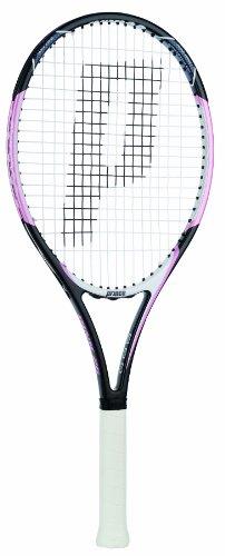 Prince Pink 26 Strung Tennis Racquet (1 (4-1/8)