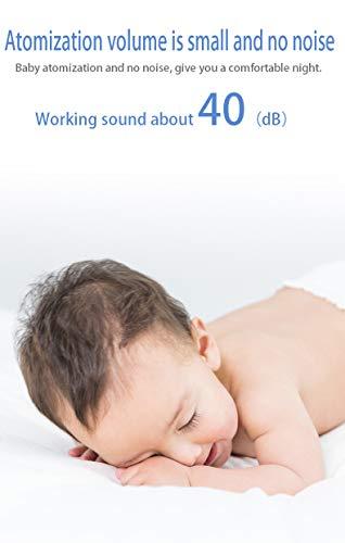 Inhalationsgerät,Tragbarer Mini Ultraschall Vernebler für Kinder, Erwachsene und Senioren, inhalator mit Maske für Zuhause und Reisen -Grau